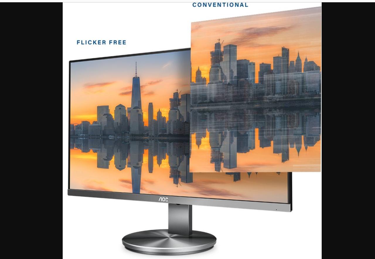 """Màn hình LCD AOC 27"""" I2790VQ gia tăng tiện ích giải trí nhiều hơn"""