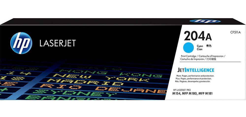 Mực in HP CF511A (204A) (Xanh)