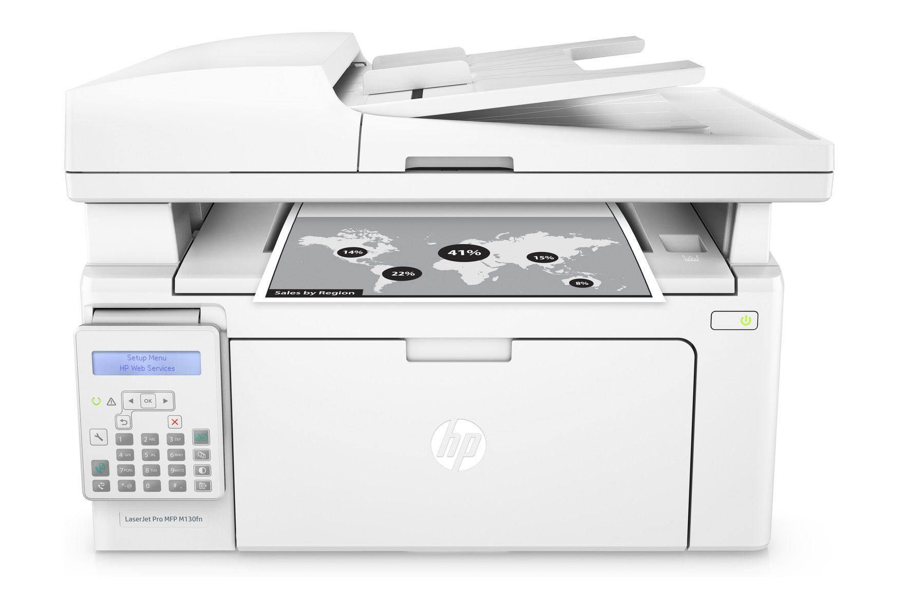 Máy in laser trắng đen HP Pro MFP M130FN (G3Q59A)