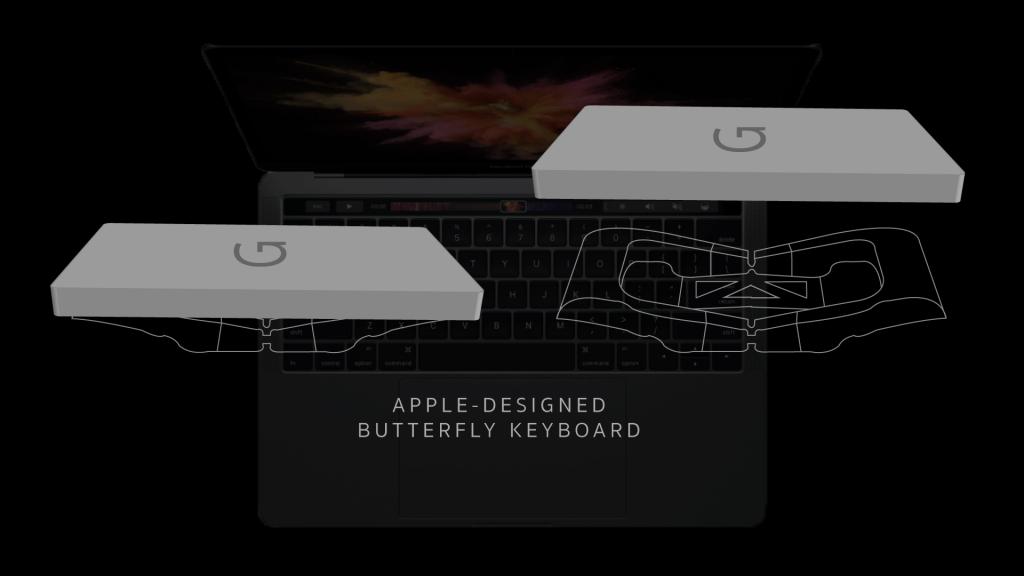 Macbook Pro 15 inch MR962 - Phong Vũ - cơ chế cánh bướm