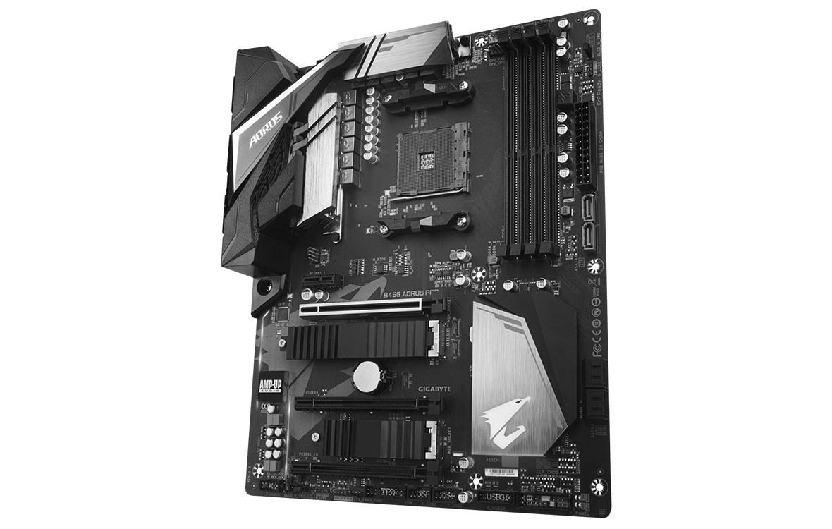 Bo mạch chính/ Mainboard Gigabyte B450 Aorus Pro