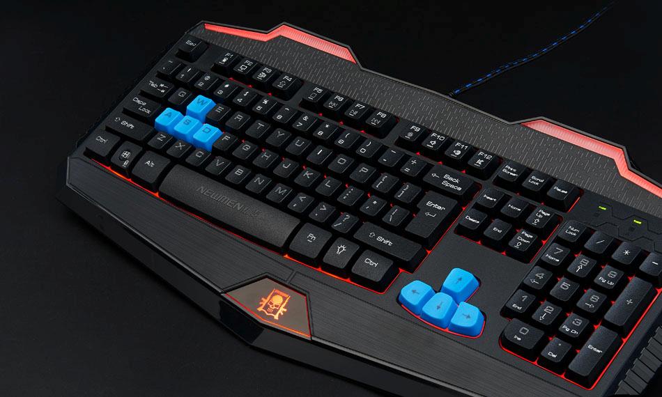 Newmen KB808 Gaming đen