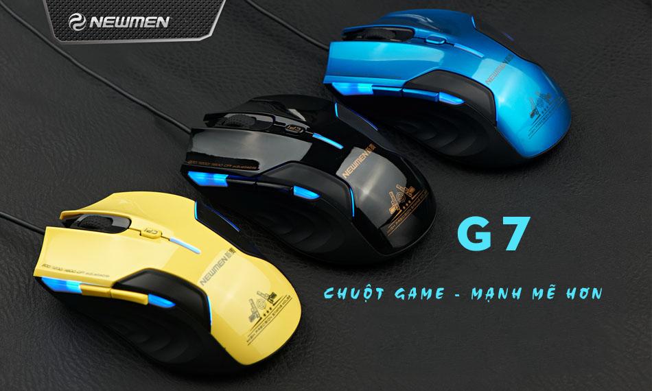 Chuột máy tính Newmen G7Plus