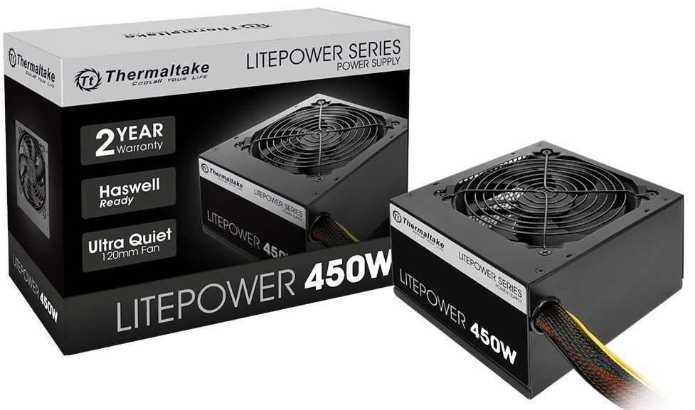 Nguồn LitePower Thermaltake 450W W0423RE