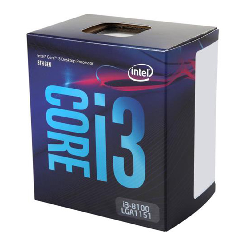 Chip core i3 8100 coffee lake