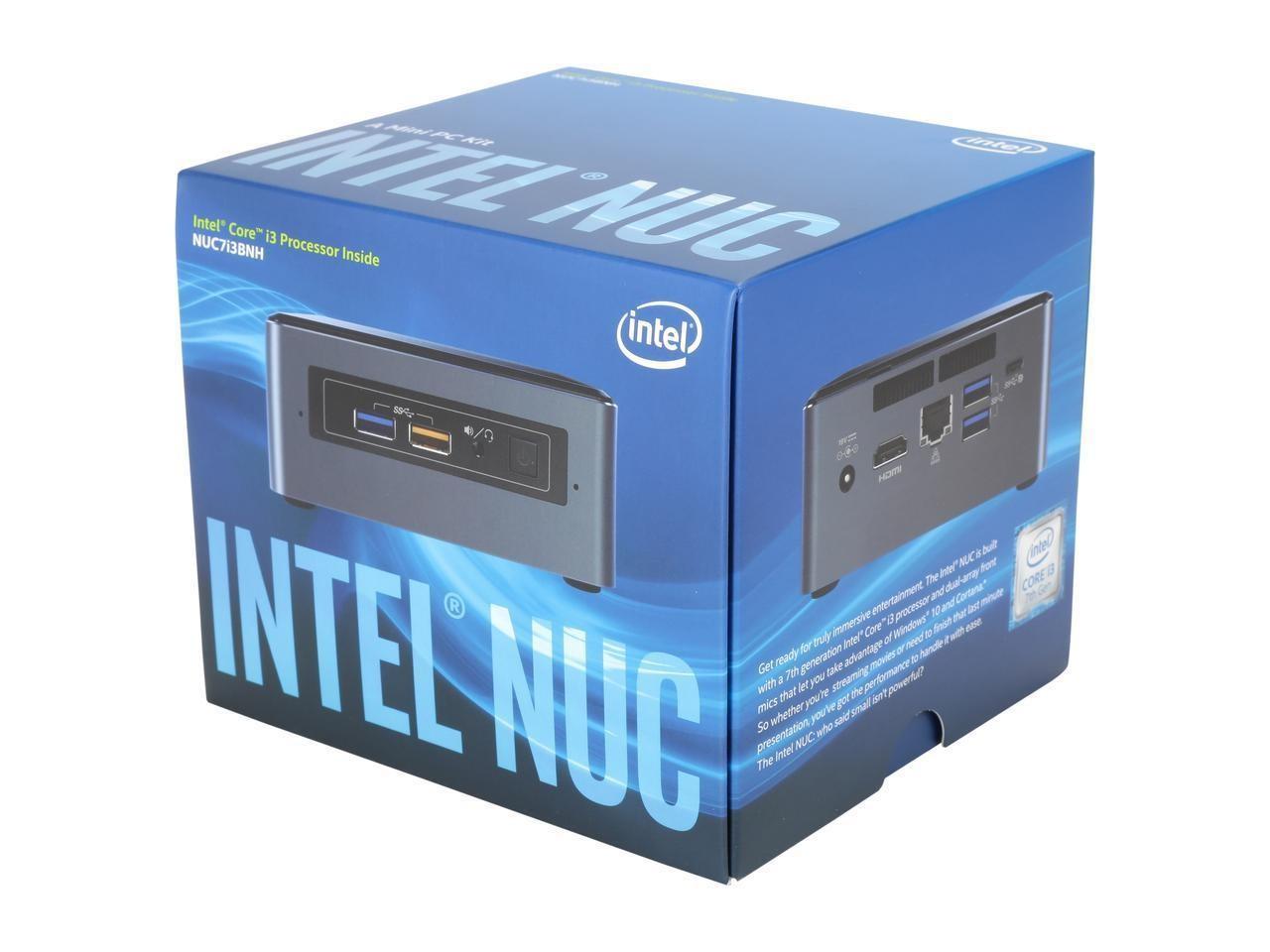 PC Intel NUC Kit NUC7I3BNH Baby Canyon (Core I3-7100U)
