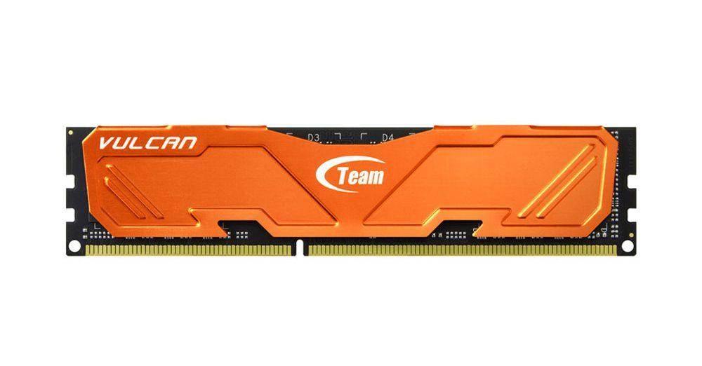 Bộ nhớ/ Ram Team Vulcan 8GB DDR3 1600 Heatsink (Cam)