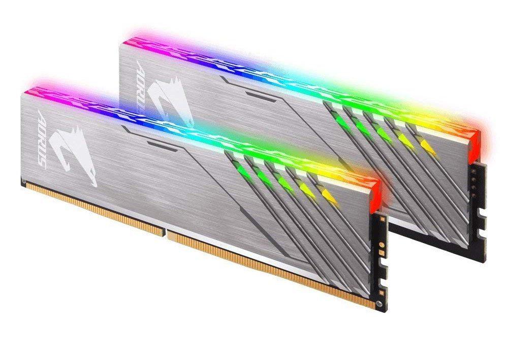 Ram Gigabyte AORUS RGB 16GB (2x8) DDR4 3200 (GP-AR32C16S8K2SU416R)
