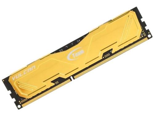 Ram Team Vulcan 8GB DDR3 1600 Heatsink (Gold)