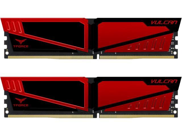 Bộ nhớ/ Ram Team Vulcan 8GB DDR4 2666 Heatspreader (Đỏ)