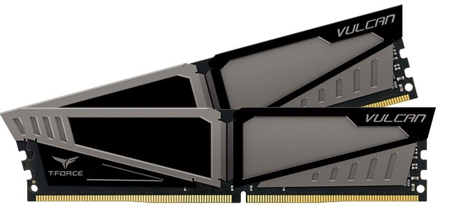 Bộ nhớ/ Ram Team Vulcan 8GB DDR4 2666 Heatspreader (Xám)