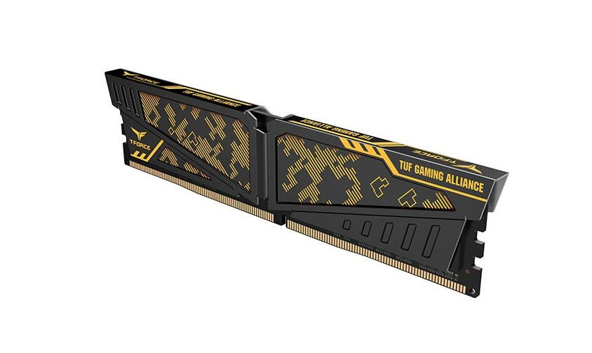 Bộ nhớ/ Ram Team Vulcan Tuf Gaming Alliance 16GB (2x8GB) DDR4 3000 Heatspreader