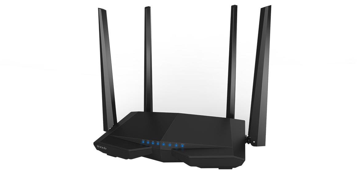Thiết bị mạng/ Router Tenda AC6 (Đen)