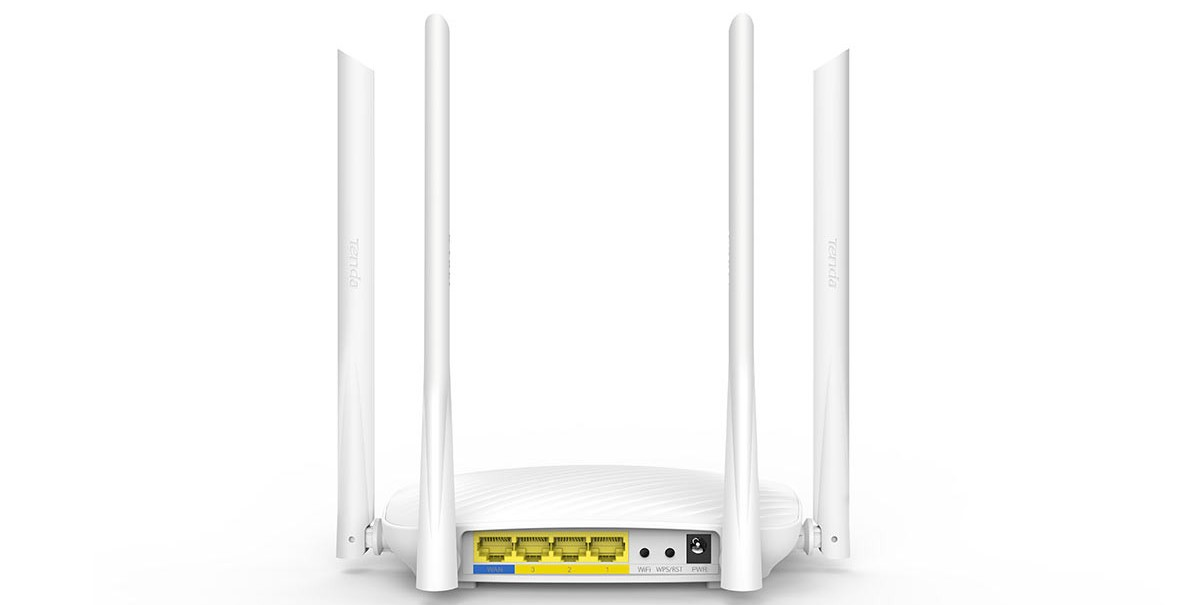 Thiết bị mạng/ Router Tenda F9 (Trắng)