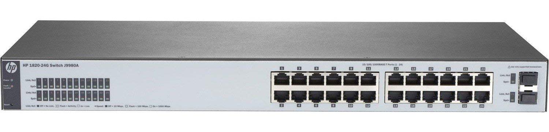 Switch HP 24P 1820 24G J9980A