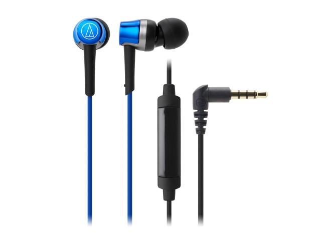Tai nghe Audio-technica ATH-CKR30iSBL thiết kế nhỏ gọn, tinh tế nhưng mang lại âm thanh mạnh mẽ