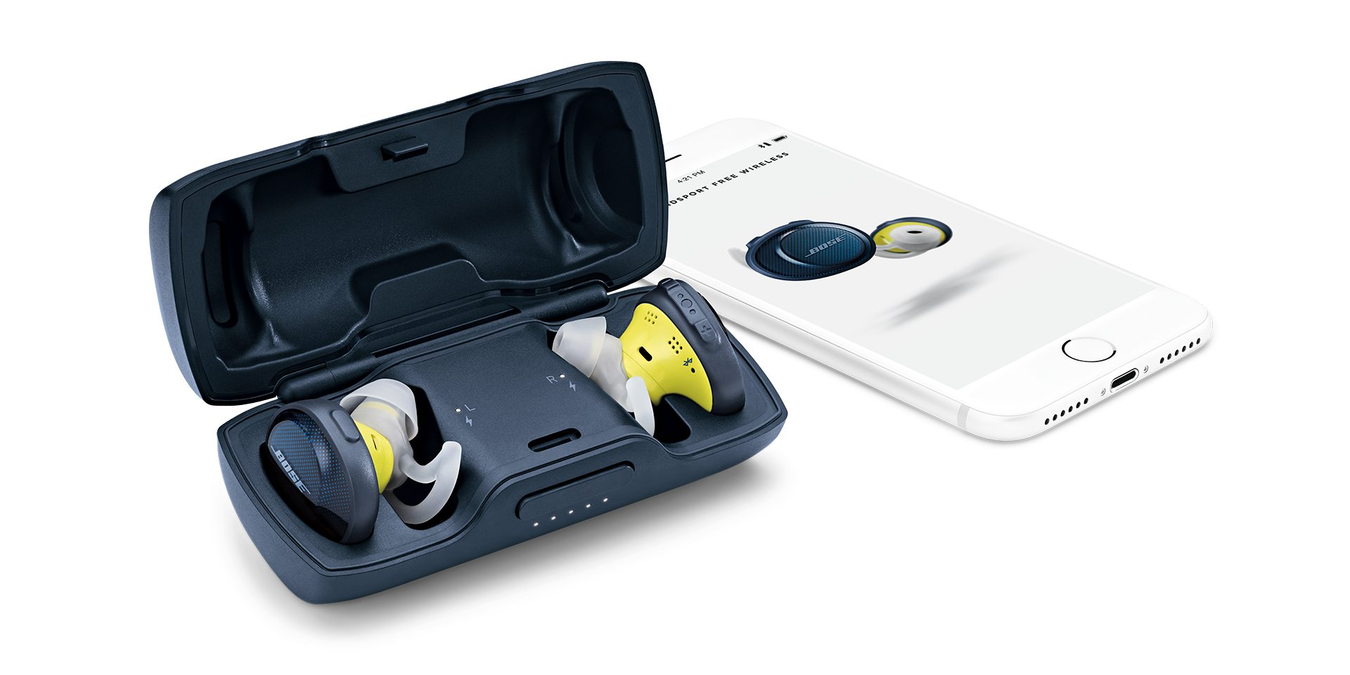 Tai nghe Bluetooth Bose Soundsport Free(Cam/Xanh)tai nghe in-ear đích thực