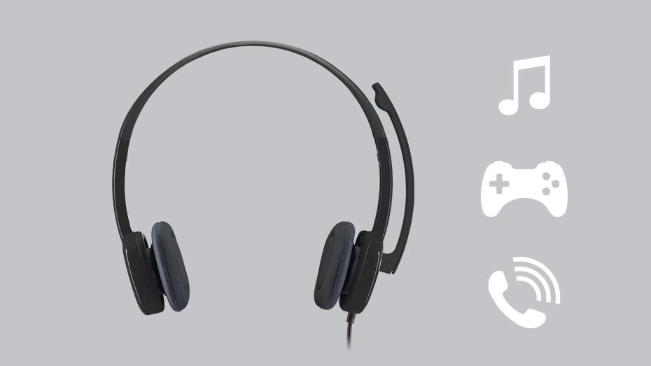 Tai nghe Logitech H151 Nhiều công nghệ hiện đại trong một giá thành hợp lí