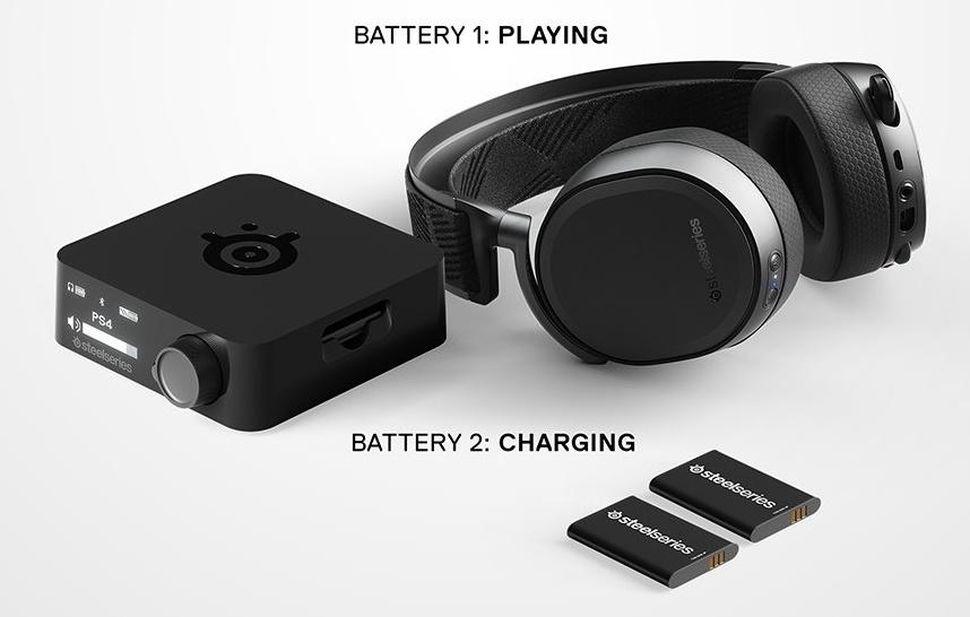 Tai nghe SteelSeries Arctis Pro Wireless