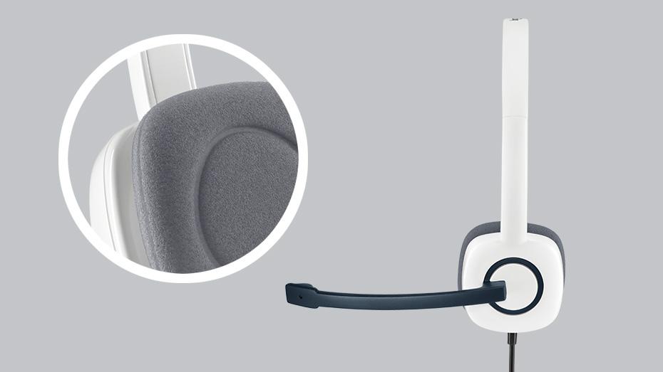 Tai nghe Logitech H150 (Xanh) nhiều công nghệ hiện đại với một giá thành hợp lí