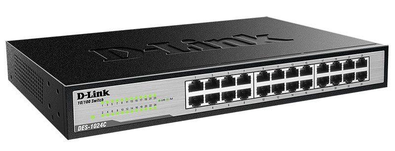 Thiết bị mạng/ Switch D-Link 24P DGS 1024C