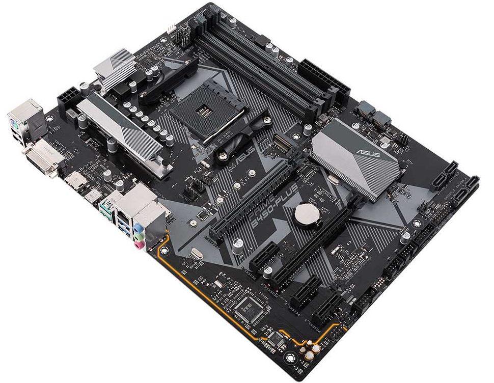 Bo mạch chủ / Mainboard Asus Prime B450-PLUS