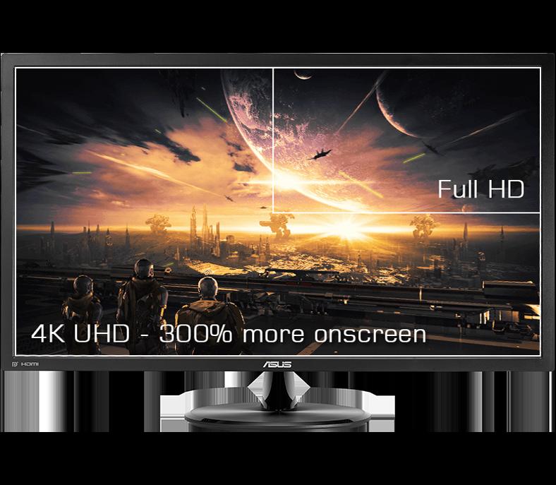 """Màn hình LCD Asus 28"""" VP28UQG"""