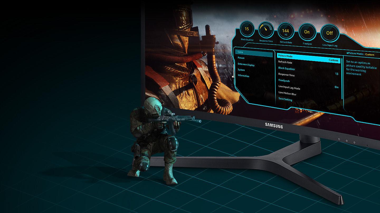 Màn hình LCD Samsung 27'' LC27FG73FQEXXV vũ khí hoàn hảo cho game thủ