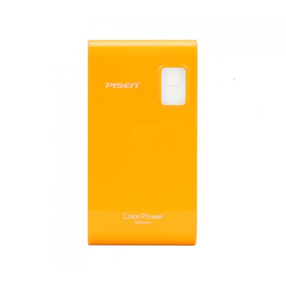 Pin sạc dự phòng Pisen Color Power 9600mAh (Cam)