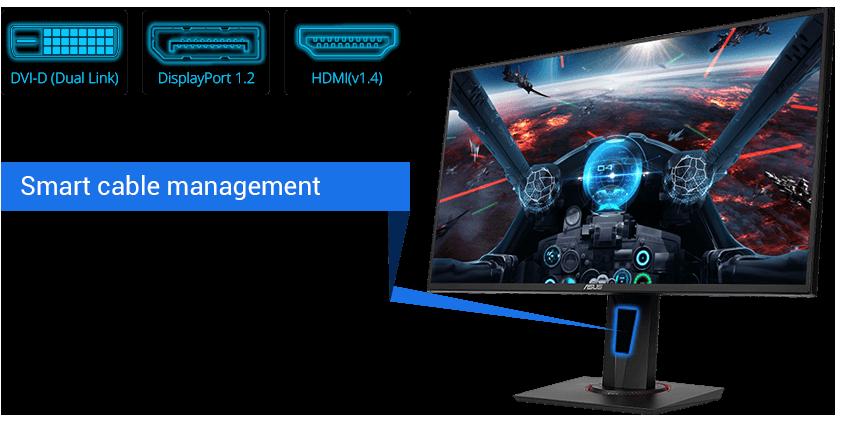 """Màn hình LCD Asus 27"""" VG278Q 144Hzvũ khí mới dành cho game thủ"""