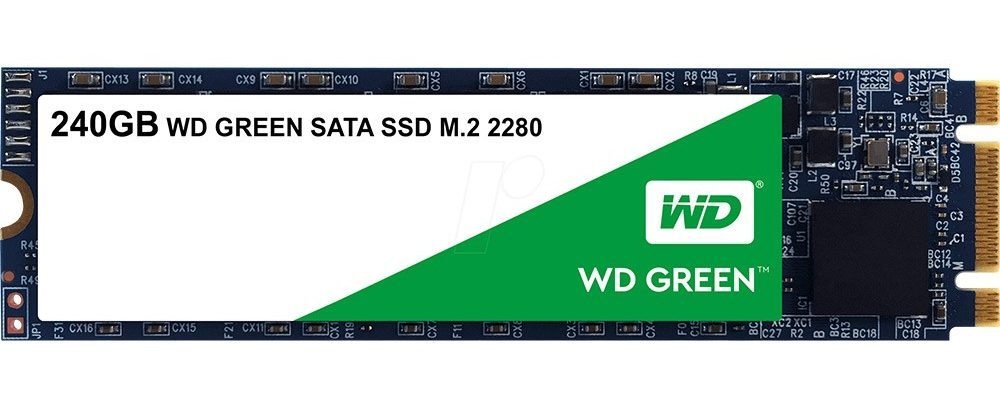 Ổ cứngSSD WD 240GB WDS240G2G0B (M2-2280)
