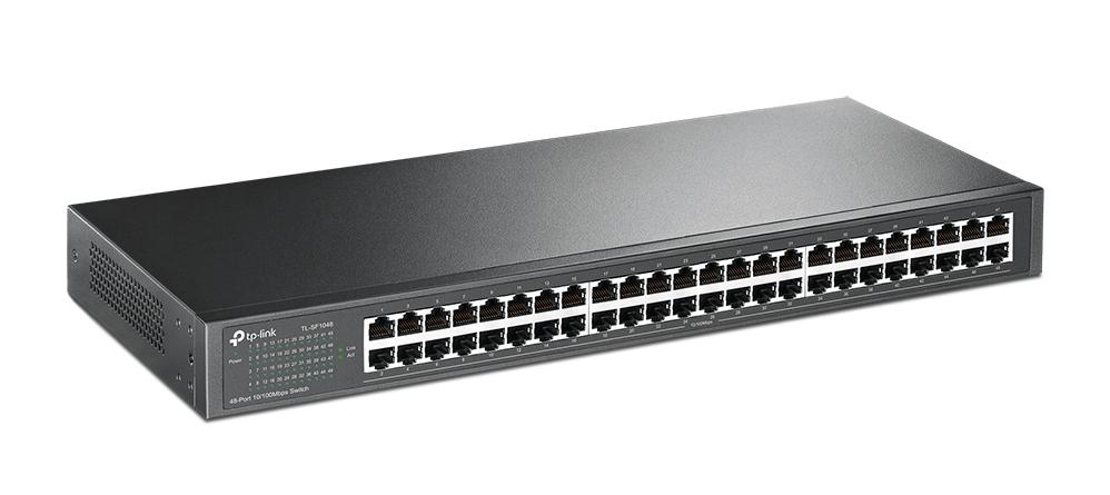 Thiết bị mạng/ Switch TPLink 48P TL SF1048 giải pháp tối ưu cho internet không dây tốc độ cao
