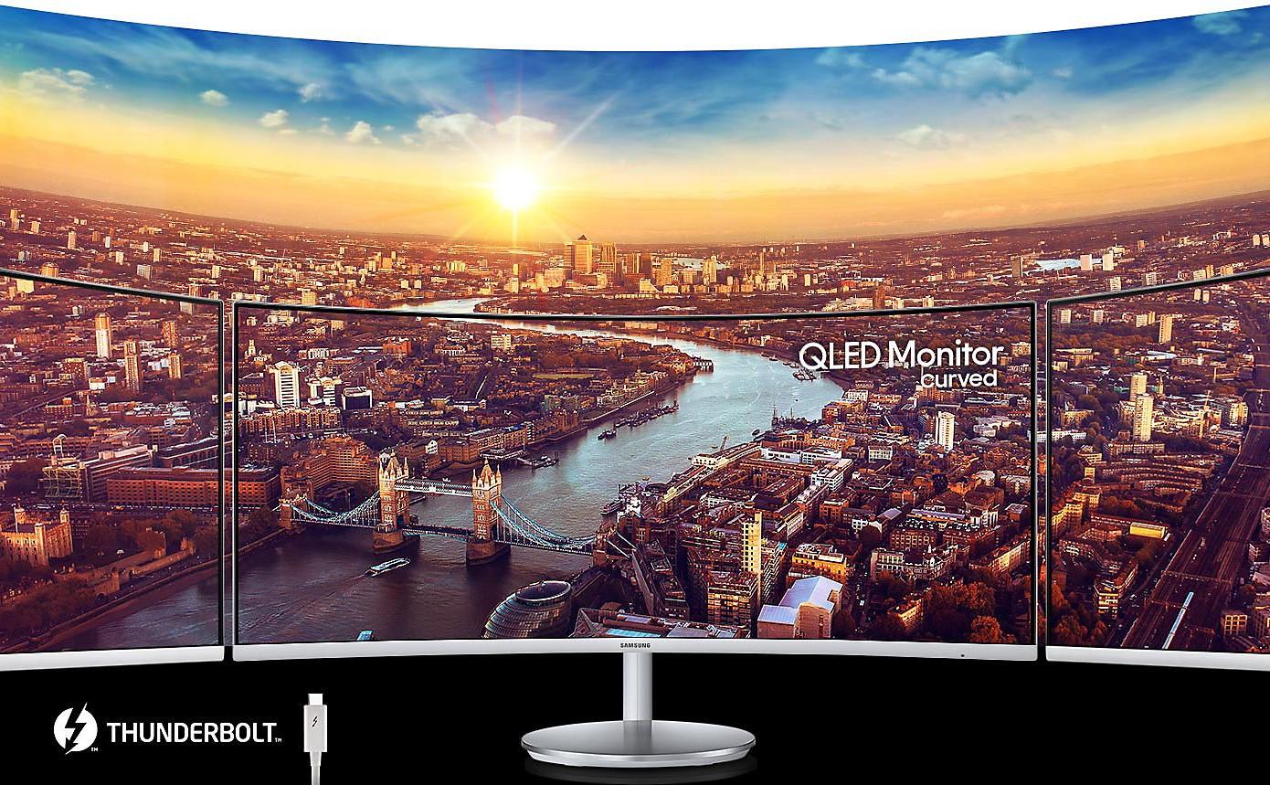 """Màn hình LCD Samsung 34"""" LC34J791WTEXXV (Trắng)"""