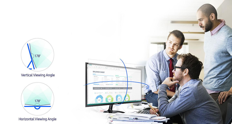 Màn hình LCD Samsung 23.5 LS24F350FHEXXV sựa lựa chọn hợp lí cho công việc và giải trí
