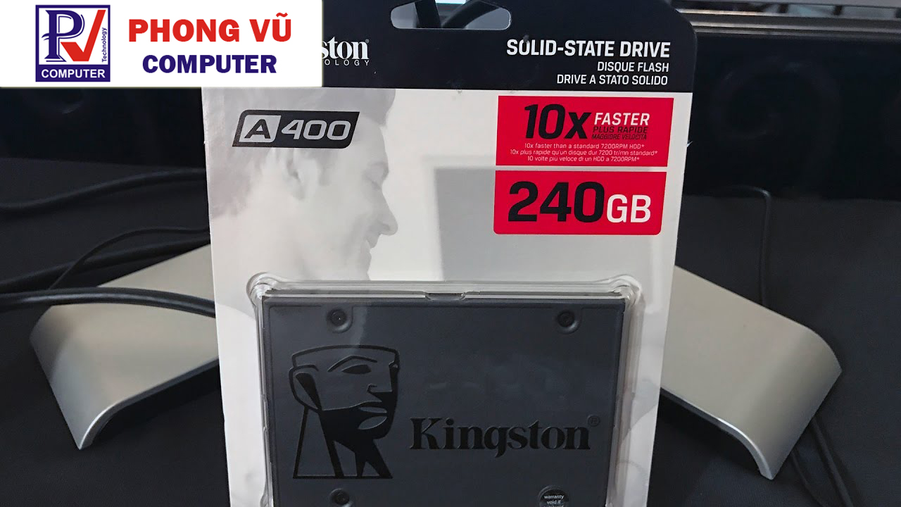 ổ cứng SSD Kingston 240GB Sata III A400