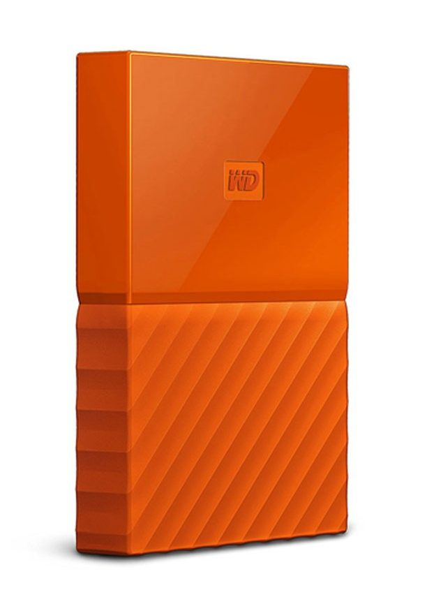 Ổ cứng HDD WD 1TB Passport 2.5″, 3.0 (Cam)