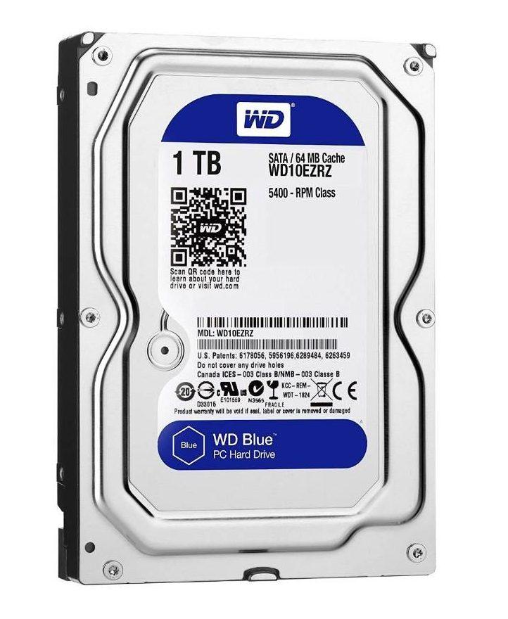 Ổ cứng HDD WD 1TB WD10EZRZ Sata 3