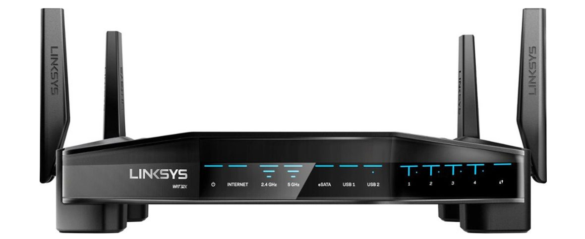 Router Wifi Linksys WRT32X -4