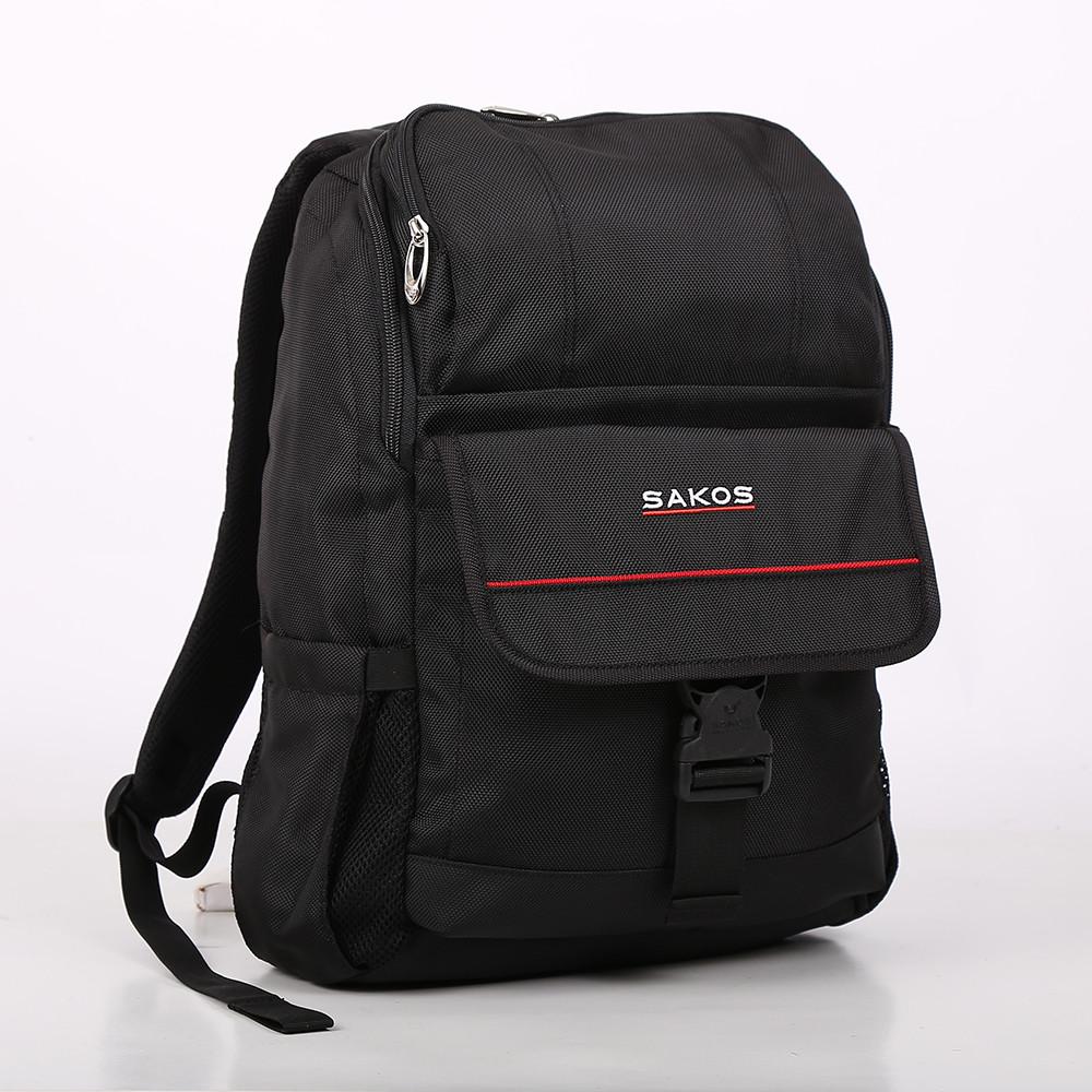 """Ba lô Sakos CACTUS i15 14"""" SBV095BR (Đỏ đen)"""