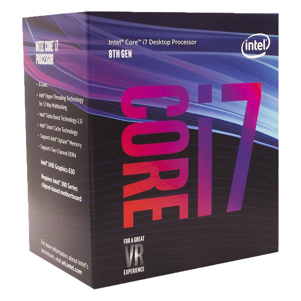 CPU Core I7-8700 (3.2GHz)