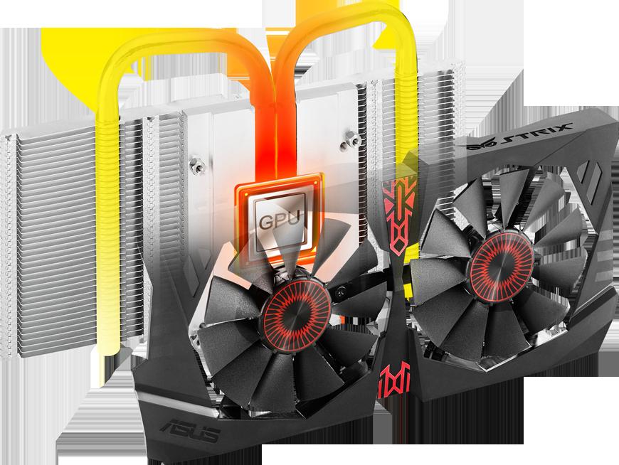 Card màn hình Asus 4GB Strix-GTX1050TI-DC2O4G-Gaming