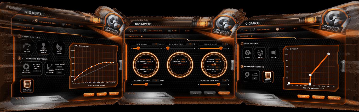 Card màn hình Gigabyte 2GB N1050OC-2GD