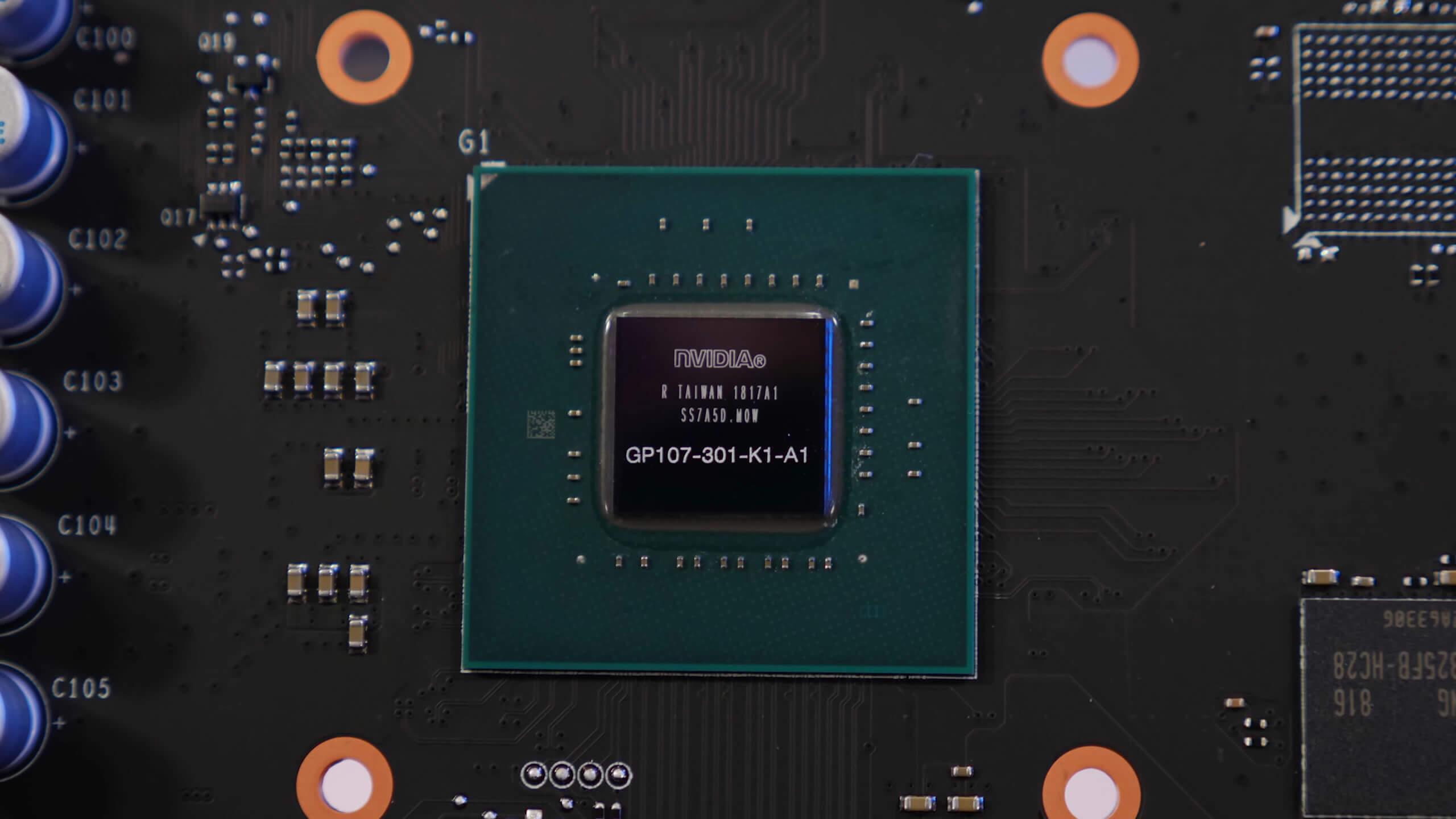 Card màn hình Gigabyte 2GB N1050WF2OC-2GD
