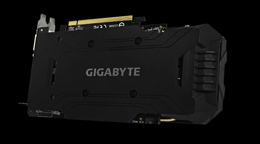 Card màn hình Gigabyte 6GB Winforce OC - N1060WF2OC-6GD