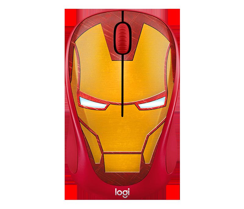 Chuột máy tính Logitech M238 Marvel Iron Man