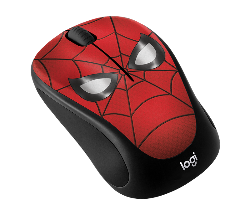 Chuột máy tính Logitech M238 Marvel Spider Man