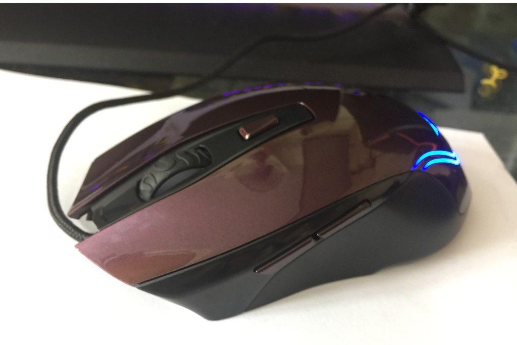 Chuột máy tính Newmen N600 (Tím)
