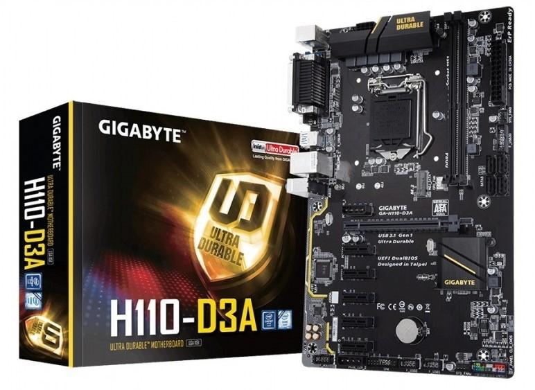 Mainboard Gigabyte H110-D3A