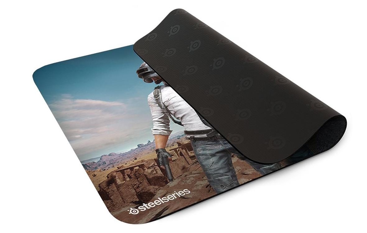 Mousepad SteelSeries Qck+ PUBG Miramar Edition