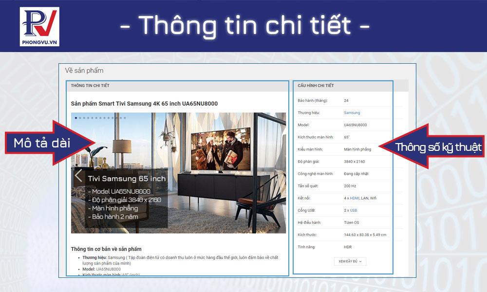 thong tin chi tiet